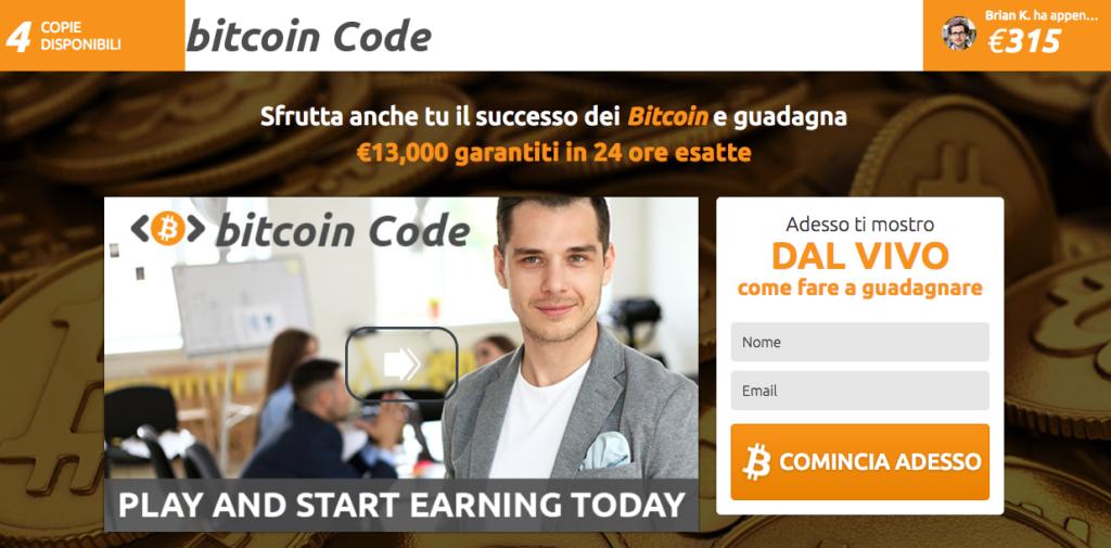 Bitcoin Code: voto finale